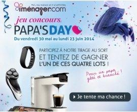 iMénager: Jeu concours Papa's Day par iMénager : 4 lots HighTech à gagner