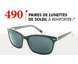 Optical Center: 490 paires de lunettes de soleil Excellence à gagner