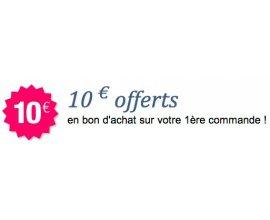 Bazarchic: 10€ offerts en bon d'achat sur votre 1ère commande