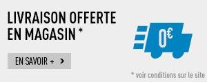 Code promo Decathlon : Livraison gratuite dans les 260 magasins Decathlon pour tous les articles
