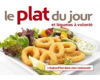 Flunch: Légumes à volonté pour l'achat d'un plat du jour
