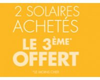 Marionnaud: 2 produits solaires achetés = le 3ème offert