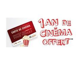 Mister Auto: Une Carte Cinéma Gaumont et Pathé « 2 pour 1 » offerte pour 120€ d'achat