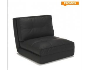 canap chauffeuse 1 place imitation cuir 159 90 au lieu de 199 90 chez alinea alin a. Black Bedroom Furniture Sets. Home Design Ideas