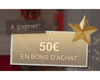 Bonprix: 10 bons d'achat de 50€ à gagner pour Noël