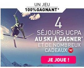 UCPA: 4 séjours UCPA au ski, des équipements Rossignol et de nombreux autres lots à gagner