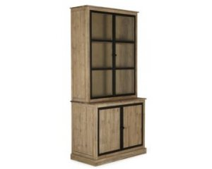 meuble double vitrine style industriel 589 au lieu de. Black Bedroom Furniture Sets. Home Design Ideas