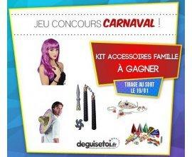 DeguiseToi: Un kit d'accessoires de déguisements de carnaval à gagner