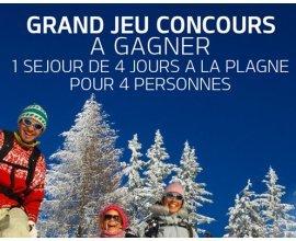 Kia: 1 séjour au ski pour 4 personnes à la Plagne et 60 bonnets CABAIA à gagner