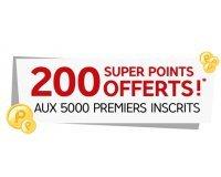 PriceMinister: 2€ en SuperPoints offerts pour les 5 000 premiers inscrits + 500€ à gagner