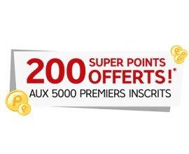 Rakuten-PriceMinister: 2€ en SuperPoints offerts pour les 5 000 premiers inscrits + 500€ à gagner