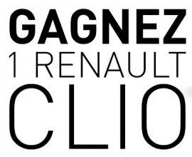 Auchan: Une voiture Renault Clio 5p 1,2L à gagner