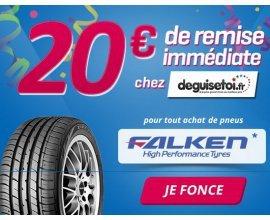 Allopneus: 20 € de bon d'achat deguisetoi.fr offerts pour tout achat de pneus Falken