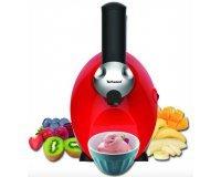 Auchan: Sorbetière TECHWOOD TIC2055 Freeze and mix rouge à 29,99€ au lieu de 49,99€