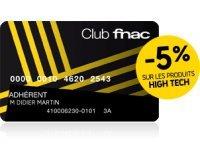 Fnac: Renouvellement de la carte adhérent 3 ans pour 10€ au lieu de 30€