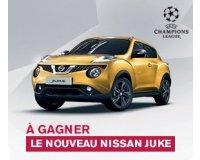 Nissan: 1 Nissan JUKE & des places pour la finale de l'UEFA Champions League à gagner