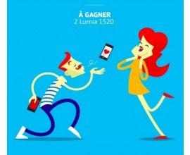 Microsoft: 2 smartphones Microsoft Lumia 1520 à gagner