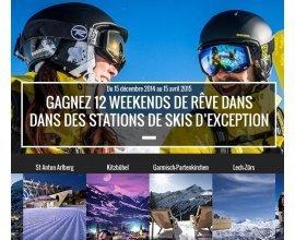 Rossignol: 12 week-ends au ski pour 2 personnes dans une station au choix à gagner