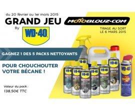 Motoblouz: Pack de nettoyage WD40 à gagner par tirage au sort
