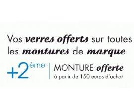 Optical Center: Verres offerts sur les montures de marque + 2ème monture offerte dès 150€