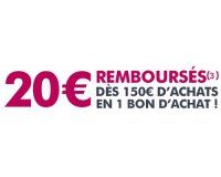Cdiscount: 20 € remboursés dès 150 € d'achats valable sur tout le site et la marketplace