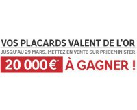 PriceMinister: 200 lots de 100€ en Superpoints à gagner en déposant une annonce