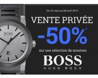 Montres & Co: Vente privée Montre Hugo Boss : - 50 % sur une sélection de modèles