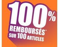 Auchan: 100 articles 100% remboursés en bons d'achat