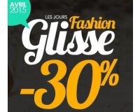 Avenue de la glisse: - 30 % sur toute la collection Mode Printemps / Eté 2015