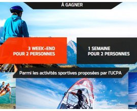 Kia: 1 semaine & 3 week-ends UCPA pour 2 personnes à gagner