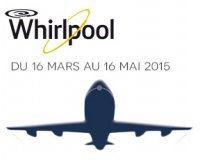 Darty: Un vol A/R en Europe pour 2 personnes offert pour l'achat d'un produit Whirlpool
