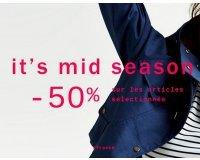 Zara: - 50% sur une sélection d'articles