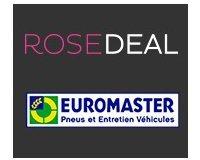 Vente Privée: Rosedeal Euromaster : payez 40€ pour 80€ de bon d'achat