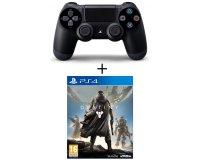 Auchan: Pack Manette PS4 Dualshock + le jeu Destiny pour 59,99€