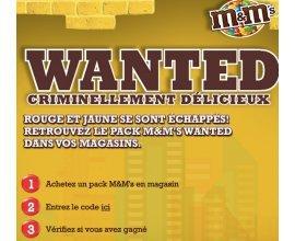 My M&M's: Un chèque de 10 000€ et 150 bons d'achat à gagner