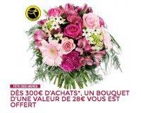 MATY: Un bouquet de fleurs Interflora offert dès 300€ d'achat
