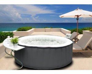 spa gonflable bulles 4 personnes 269 99 au lieu de 399 cdiscount. Black Bedroom Furniture Sets. Home Design Ideas