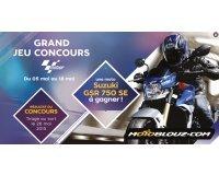 Motoblouz: Une moto Suzuki gsr750 à gagner par tirage au sort