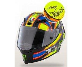 Motoblouz: Un casque AGV signé par Valentino Rossi à gagner