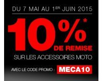 Dafy Moto: 10% de réduction immédiate sur les accessoires moto