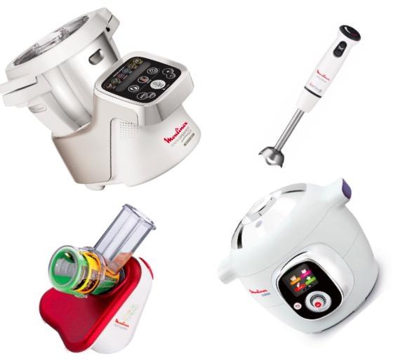 8 robots de cuisine moulinex cookeo companion for Robot cuisine cookeo