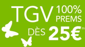 Code promo Voyages SNCF : 400000 billets au tarif PREMS pour voyager en juin