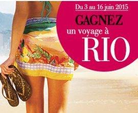 La Halle: 1 séjour à Rio De Janeiro au Brésil et des tongs et des bons d'achat à gagner