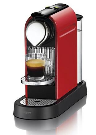 machine caf krups citiz nespresso capsules 69. Black Bedroom Furniture Sets. Home Design Ideas