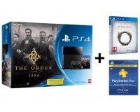Amazon: Pack PS4 The Order 1886 + The Elder Scrolls Online + PS Plus 3 mois à 399€