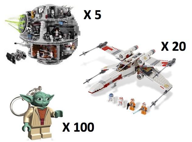 125 jeux lego star wars gagner lego. Black Bedroom Furniture Sets. Home Design Ideas