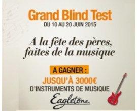 La Halle: Grand Blind Test : Jusqu'à 3000€ d'instruments de musique à gagner
