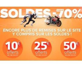 iCasque: - 10€ dès 150€, - 25€ dès 300€ et - 50€ dès 450€ d'achat (soldes compris)