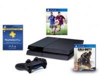 Amazon: PS4 + Fifa 15 ou Call of Duty : Advanced Warfare + PS Plus 3 mois = 399€