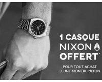 Timefy: 1 Casque Nixon Offert pour tout achat d'une montre Nixon de plus de 149€